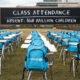 """UNICEF dezvăluie """"Clasa pandemică"""" la sediul Națiunilor Unite din New York pentru a atrage atenția asupra necesității ca guvernele să prioritizeze redeschiderea școlilor"""