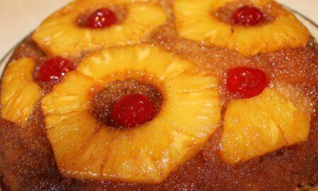 Tort de post cu ananas. Va fi o surpriză uriașă pentru toată familia