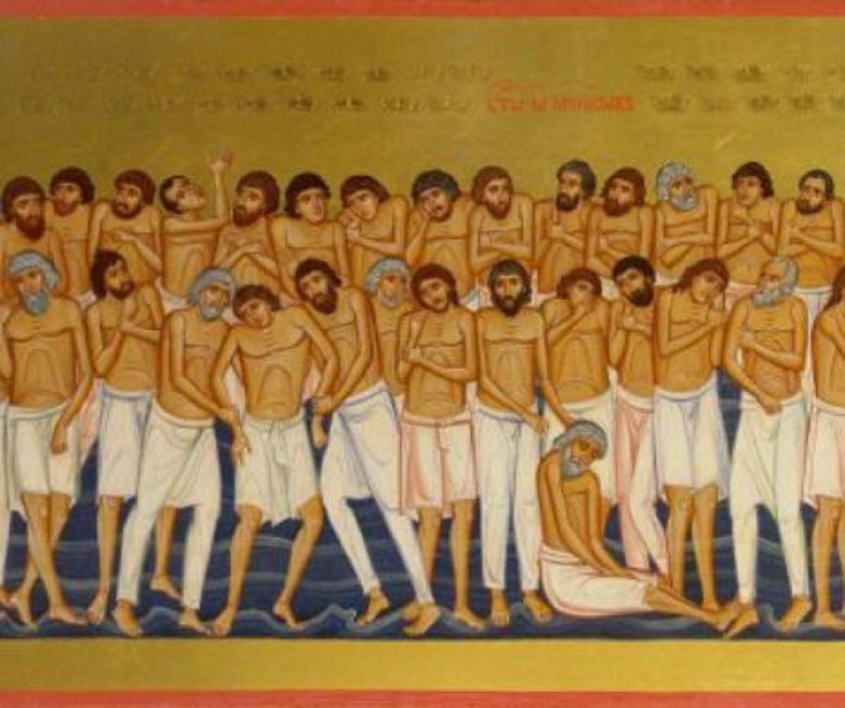 Semnficația celor 40 de Mucenici. Cine au fost acești SFINȚI și ce reprezintă ziua de 9 Martie