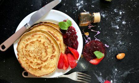 Cum se prepară clătitele americane. Sunt ideale pentru un mic-dejun hrănitor și sățios!