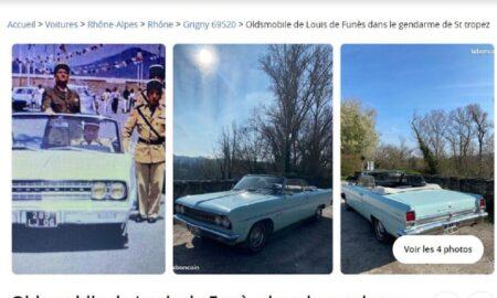 """Incredibil! Mașina din filmul """"Jandarmul din Saint Tropez"""" își caută un nou proprietar! Prețul este uluitor"""