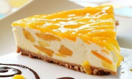 Pe asta sigur nu o știați. Prăjitură cu brânză și mandarine la tavă. Este fenomenală!