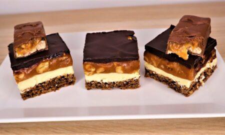 Desert cu biscuiţi, nuci şi ciocolată. Cea mai bună prăjitură pe care a-ți mâncat-o vreodată