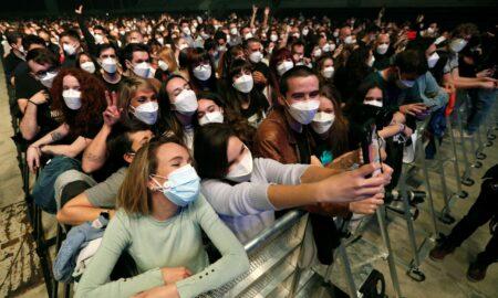 Concert de testare la Barcelona: 5.000 de participanți, niciun caz de infectare