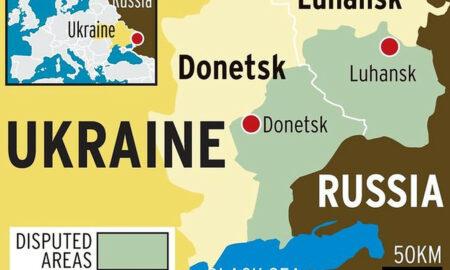 """Forță de asalt impresionantă, Rusia marchează vehiculele de asalt cu """"dungi de invazie"""""""