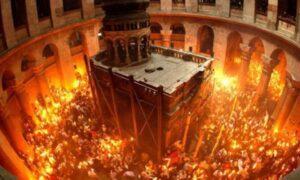 Cum se aprinde Lumina de la Sfântul Mormânt. Adevărul despre fenomenul de origine divină!