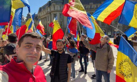 Nou protest în București fața de restricțiile impuse de autorități