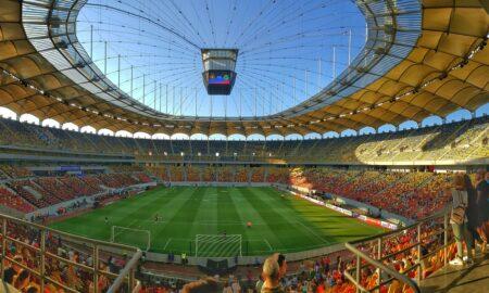 Piele de găină la Franța - Elveția! Moment memorabil: Întreg stadionul a scandat 'România-România'