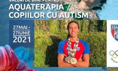 David Popovici, înoată pentru copiii cu autism! Multiplul campion este component al Team România Tokyo 2021
