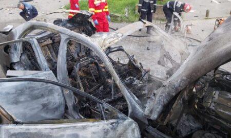 Detaliu șocant în cazul de la Arad! Anchetatorii au găsit explozibil în mașină