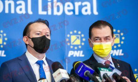 Luptă la cuție pentru șefia PNL! Florin Cîțu sau Ludovic Orban?