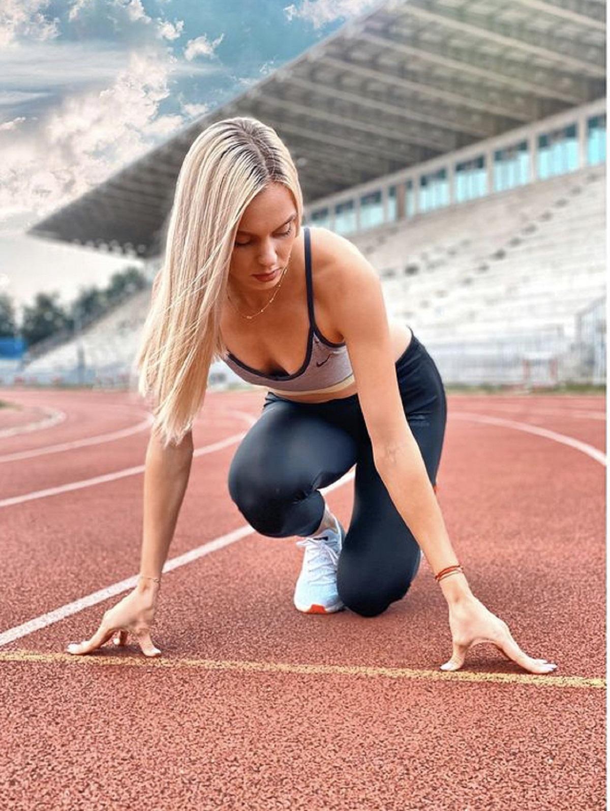 Cine este cea mai bună atletă din România! Dublă campioană națională în probele de 100 și 200 metri