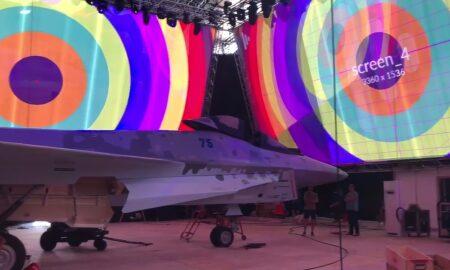 Video. Rosteh a prezentat cel mai nou avion de luptă al Rusiei. F-35-ul american are rival