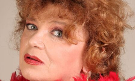 Actrița Cezara Dafinescu