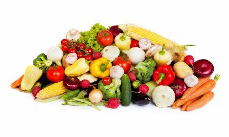 alimente congelate și alimente proaspete