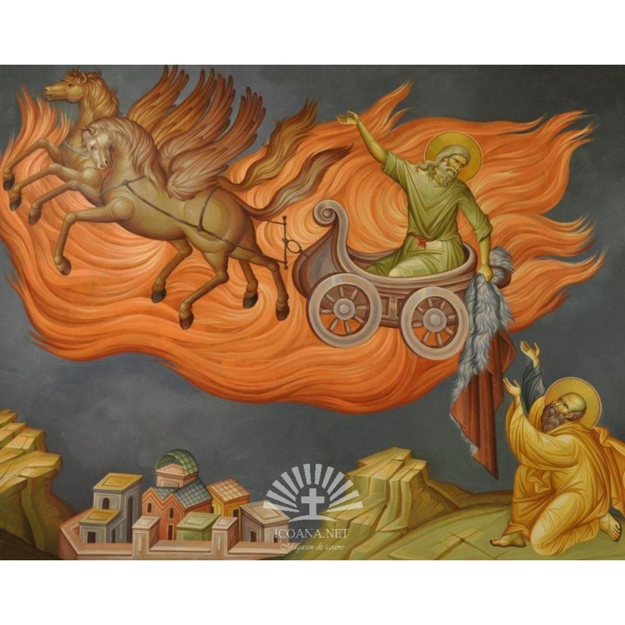 Sfântul Ilie și legenda carului de foc cu care se plimbă pe cer. Ce NU trebuie să faci conform tradiției