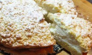 Tort Sirtaki cu crema de iaurt grecesc. O porție are doar 150 de calorii