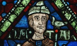 Unele vitralii ale Catedralei din Canterbury datează din vremea arhiepiscopului Thomas Becket