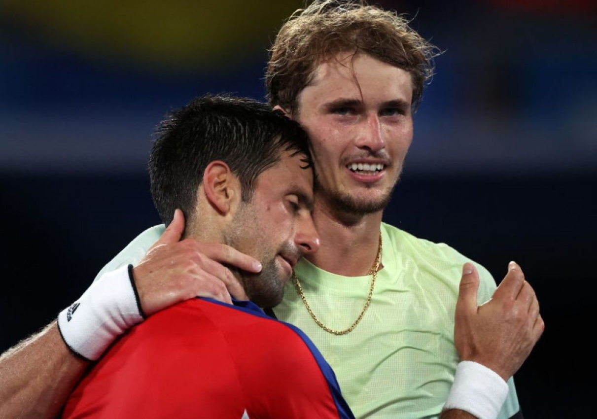 JO Tokyo 2020. Zverev l-a împiedicat pe Djokovic să realizeze Golden Slam