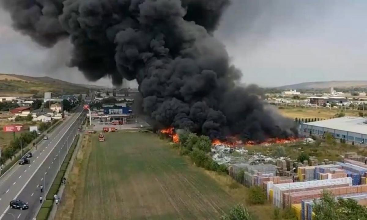 Incendiu devastator la Alba Iulia