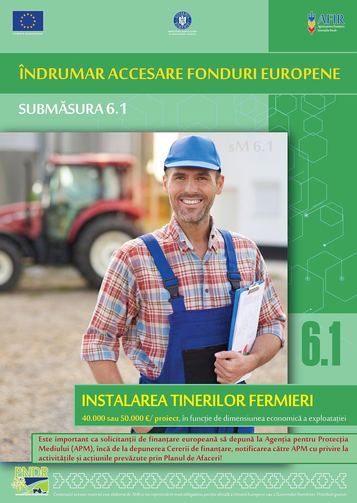 Ajutor pentru fermieri de la AFIR. Două îndrumare pentru accesarea fondurilor europene