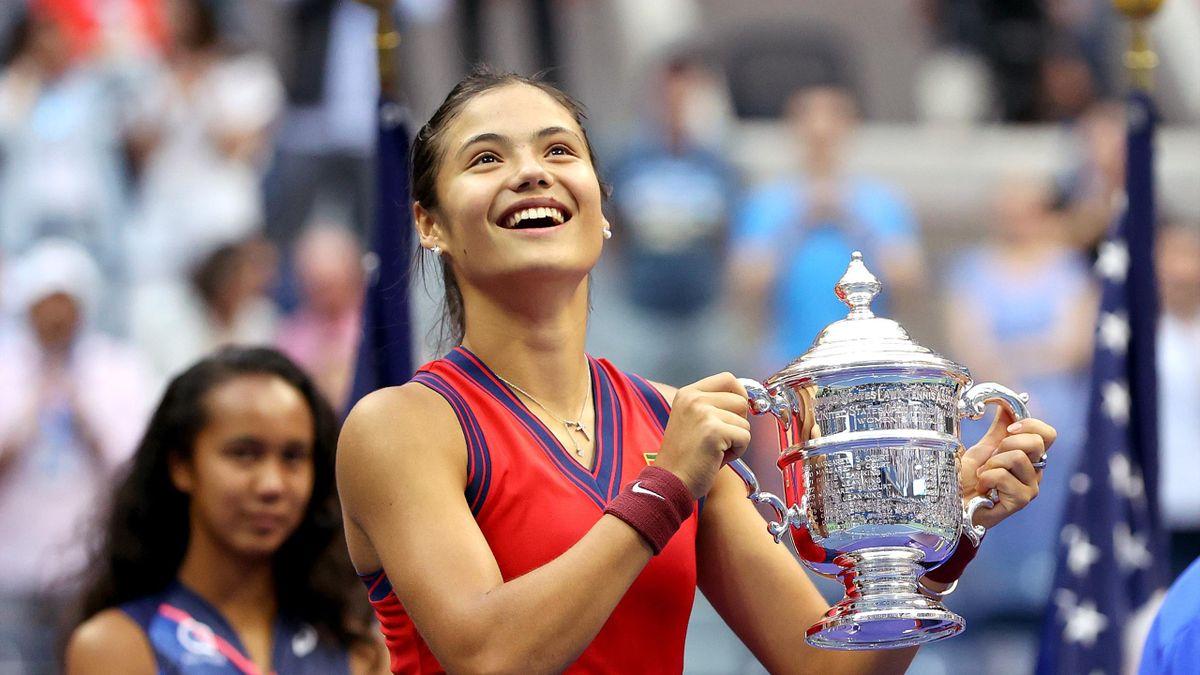 Marea Britanie câștigă US Open, prin Emma Răducanu, după jumătate de secol
