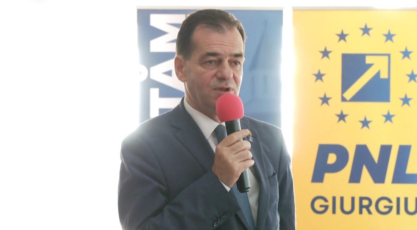 """Ludovic Orban: """"Nu putem accepta să rămânem agăţaţi ca guvern minoritar de mila PSD"""""""
