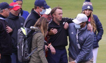 """Vedetă din seria """"Harry Potter"""", prăbușită pe terenul de golf"""
