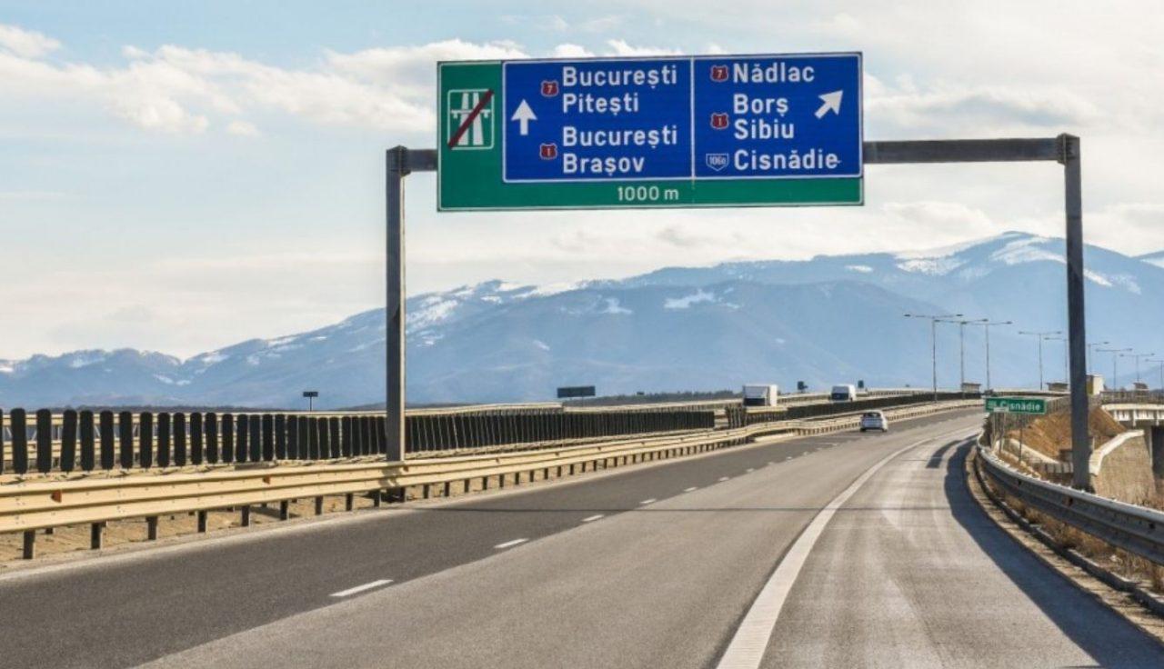Încep lucrările pe un nou tronson al autostrăzii Sibiu - Pitești. Va fi un plus și pentru turism!