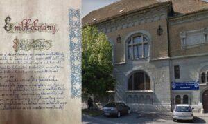 Un mesaj peste timp la fosta școală evreiască din Arad. Ce conține capsula timpului
