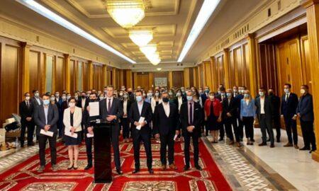 Video. Miniștri USR PLUS se retrag, cu toții, din guvernul Cîțu