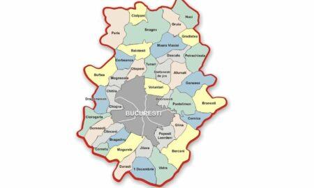 Restricțiile care se vor aplica de luni, 27 septembrie, în 31 de localități de pe raza județului Ilfov
