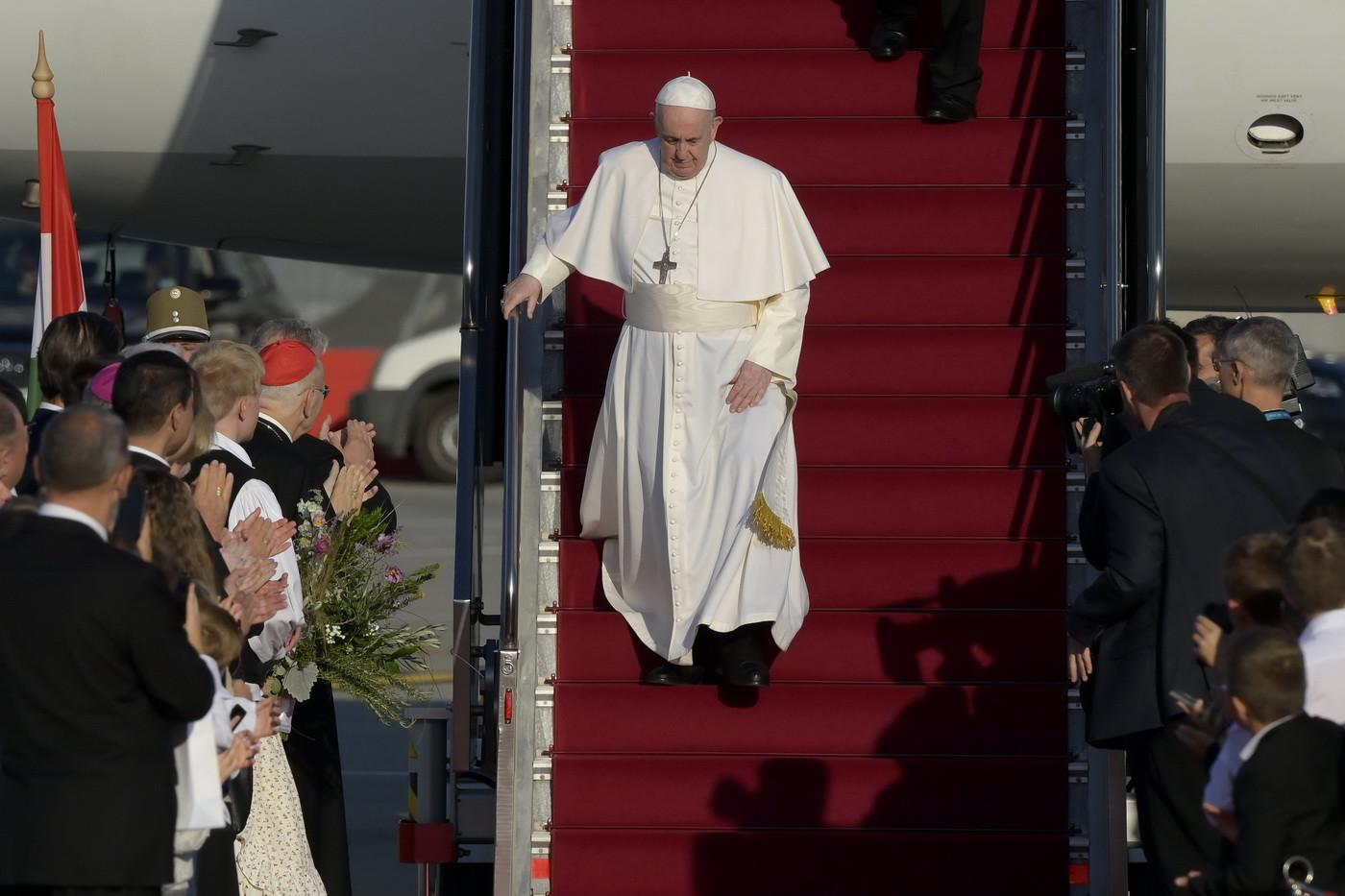 Papa Francisc în vizită în Ungaria. Rămâne doar câteva ore