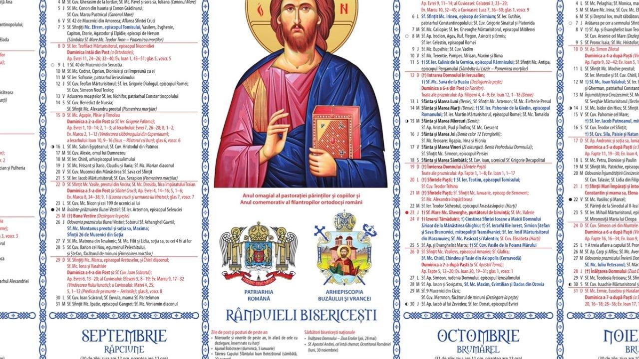 13 Octombrie, zi extrem de importantă pentru credincioși. Ce sărbătoare este miercuri?