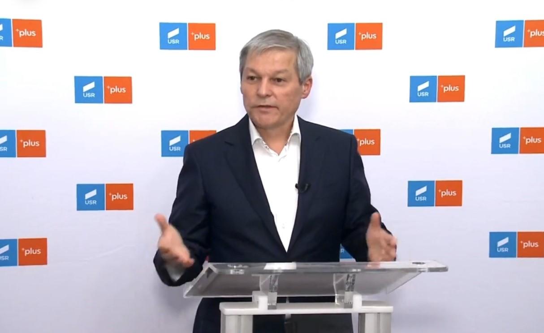 Video. Dacian Cioloș: Partidul care îşi asumă guvernarea în următoarele luni face un sacrificiu