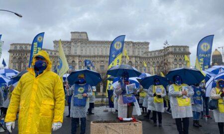 Federaţia Solidaritatea Sanitară îl somează pe Klaus Iohannis: Ce au de gând să ceară sindicaliștii